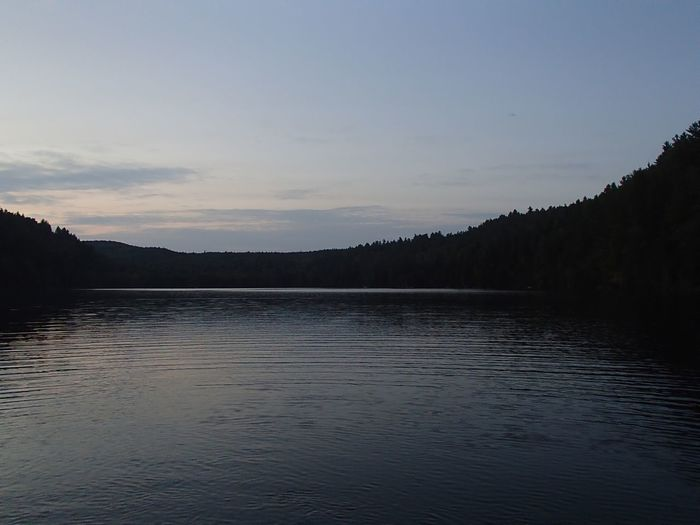 Coucher de soleil sur le Lac Jackson - Jackson Lake Sunset (Mauricie) Sunset Water Sky Tranquil Scene Tranquility Scenics - Nature Beauty In Nature Tree Lake Nature Waterfront Idyllic Rippled