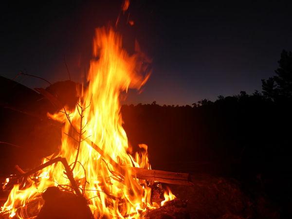 Kaikoura New Zealand Life Light Beauty Bonfire Burning Element Fire Flame Good Moment Lifestyles Nature New Zealand Night Outdoors Warm