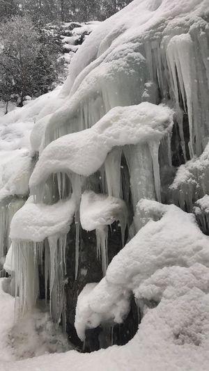 Iced rock ,