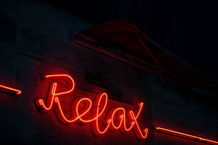 EyeEm Best Shots EyeEmNewHere Relax Nightclub Capital Letter Commercial Sign Light Painting Advertisement
