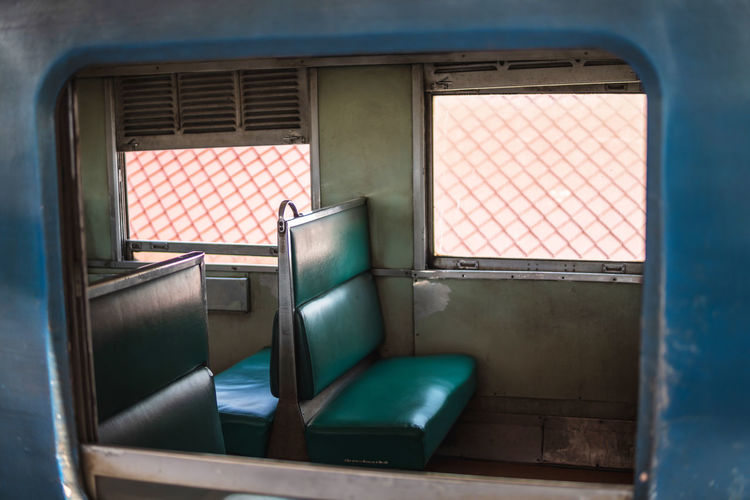 Seat inside old