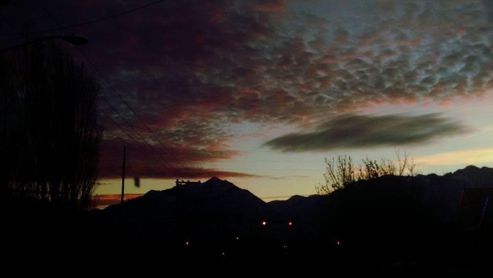 {12•04•16} Utah Sky