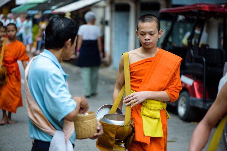 Monk Walk Monks