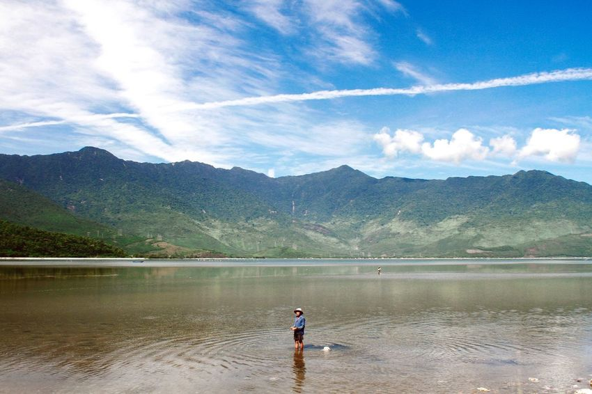 Summer Views Huế Da Nang Vietnam Traveling Travel Summer Trip Fisherman Mountains