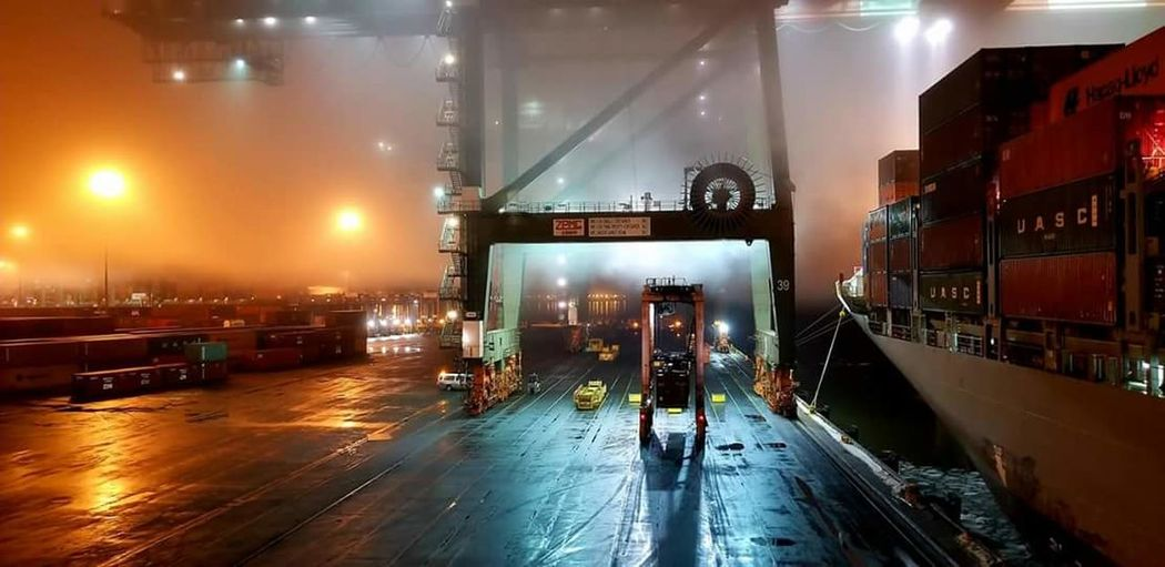 #foggy #starddlecarrier #crane #ilastrong #cranelife #longshoreman #WorkFlow #ship Business Finance And Industry Factory Indoors