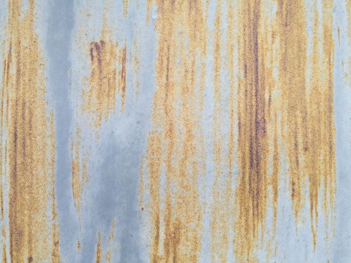 Architecture Backgrounds Blue Close-up Corrugated Corrugated Iron Day Full Frame Iron Marbled Effect Metal No People Old Outdoors Paint Pattern Rusty Sheet Metal Textured  Wall - Building Feature Weathered White Color