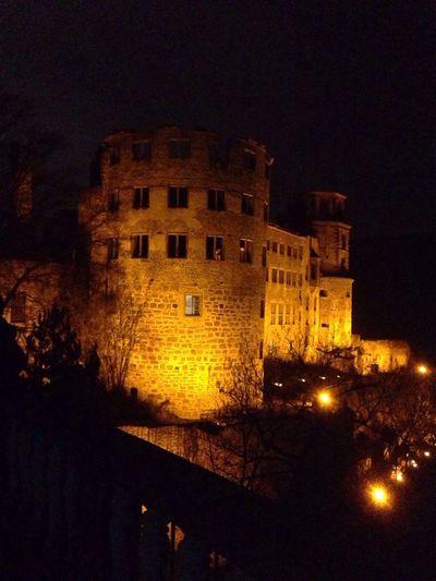 Lightshow Heidelberg Castle