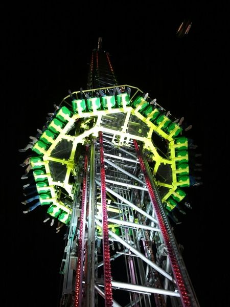 "Scream Tower on the "" Bremer Freimarkt "" in Bremen/ Germany"