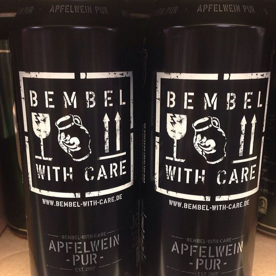 Bembel with care Apfelwein äbbelwoi Ebbelwoi ebbelwei pur