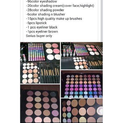 ONLY FOR SERIUS BUYER WA 0137471749 SET LENGKAP MAKEUP Sayajual Sale Visitmyig Iklanig instashop onlineshop bazarpaknil fullsetmakeup promote promotion murah malaysia makeupmurah makeup