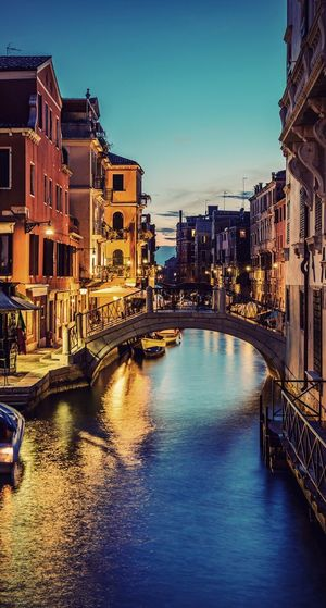Probably on of my best photos! Venice😍🔥 Architecture Built Structure Building Exterior City Water Waterfront Connection River Bridge - Man Made Structure Transportation Outdoors Residential Building No People Day Travel Destinations Sky Nautical Vessel Clear Sky Cityscape