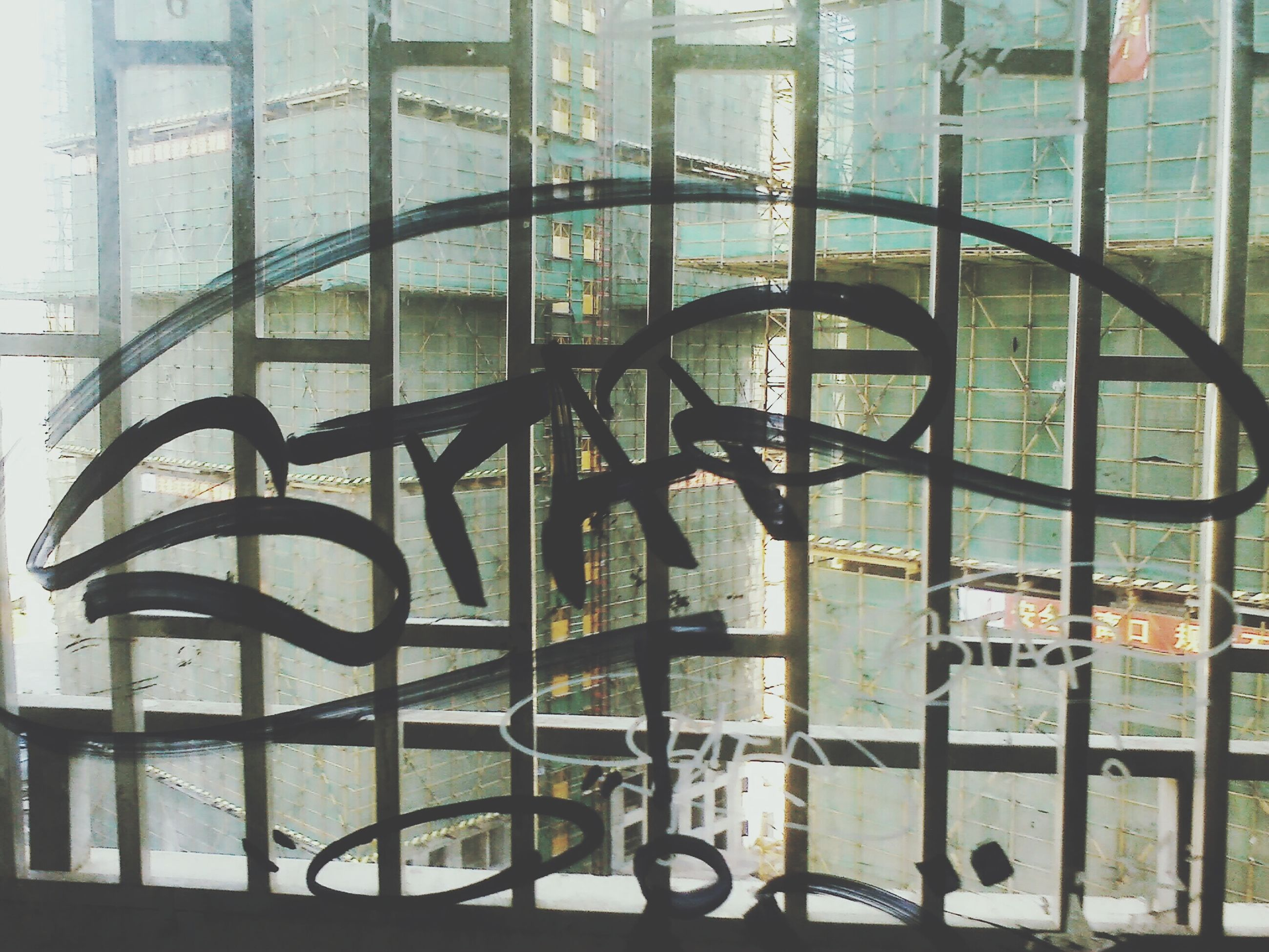 window, architecture, built structure, glass - material, indoors, building exterior, transparent, building, reflection, day, metal, city, glass, no people, residential structure, pattern, residential building, wall - building feature, house, metal grate