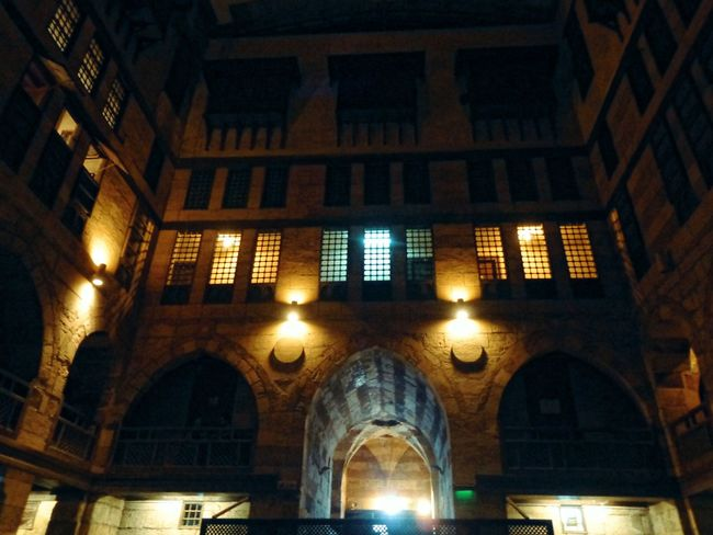 Architecture Built Structure Low Angle View No People Illuminated Indoors  Day Music Photography  Music Photography  Egyptian Folklore A Night To Remember Folklore Egyptian Art Islamic Architecture Wekalet Ghuri Music Music Festival Music Is My Life Illuminated Building A Night Out Electricity  Music Photography