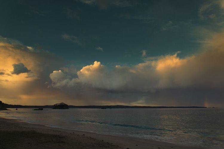 "Ontheroad ""The Illuminator - 2014 EyeEm Awards Taking Photos Nature Casey's Beach after the storm."