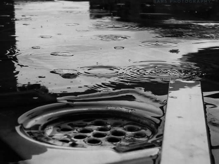 Blackandwhite Blackandwhite Photography Rain Rainy Days Drain Drainage Drain Cover