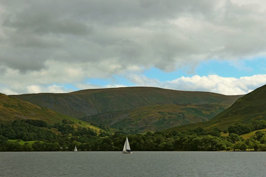 Landscape_Collection Ullswater Beauty In Nature Cloud - Sky Day Environment Lake View Landscape Landscape_photography Mountain Mountain Range Nature Nautical Vessel No People Non-urban Scene Outdoors Sailboat Scenics - Nature Sea Sky Tranquil Scene Tranquility Ullswater, Lake District, Water Waterfront