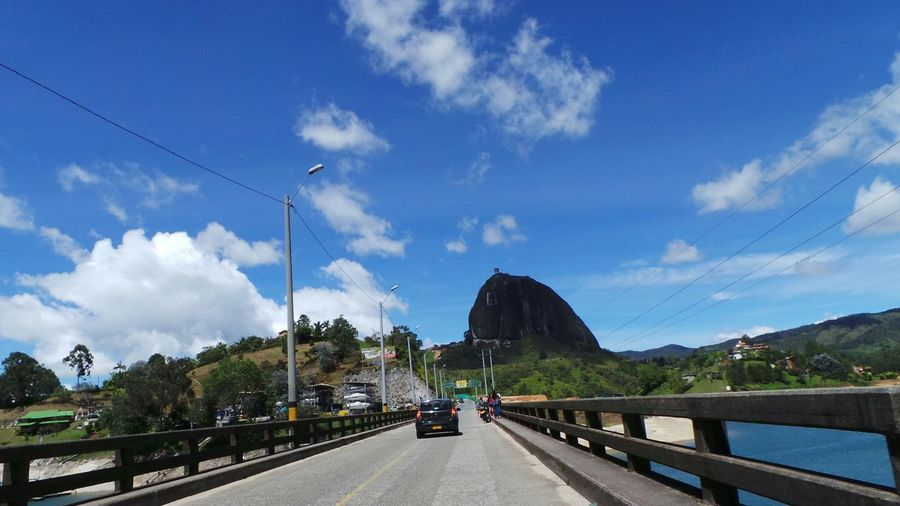 Going to el peñol Rock Traveling Antioquia Elpeñol Colombia Taking Photos Galaxy Camera Farview Landscape_Collection