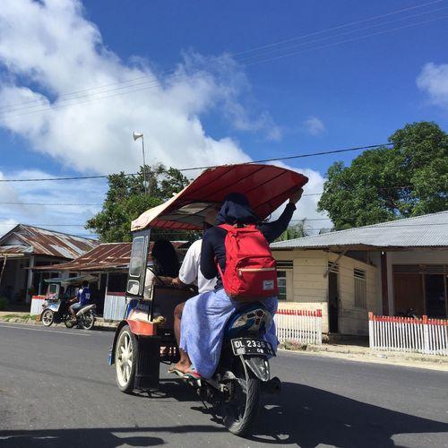 Talaud Becak Motor Bentor IPhone Iphonephotography Transportation