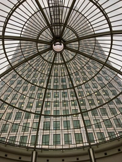Ceiling Architecture Low Angle View No People Built Structure Pattern Indoors  Day Modern Dome Sky Architectural Design Architecture And Art