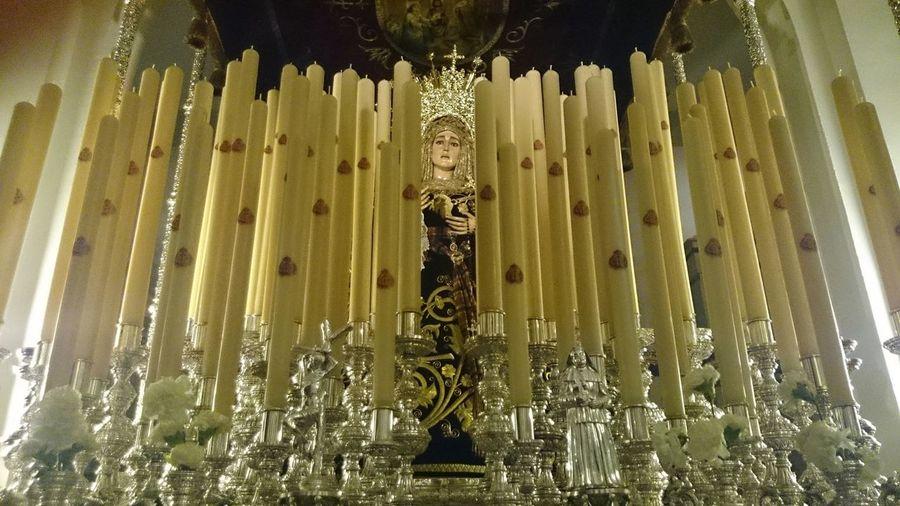Virgen del Valle. Somosfelices YoSalgoElMartesSanto Noedit FarolingVela