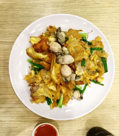 Oyster Omelette Singaporefood