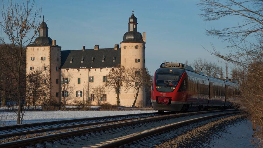 Burg Veynau Burg Veynau Deutsche Bahn Eifel Germany Eisenbahn Railway Talent