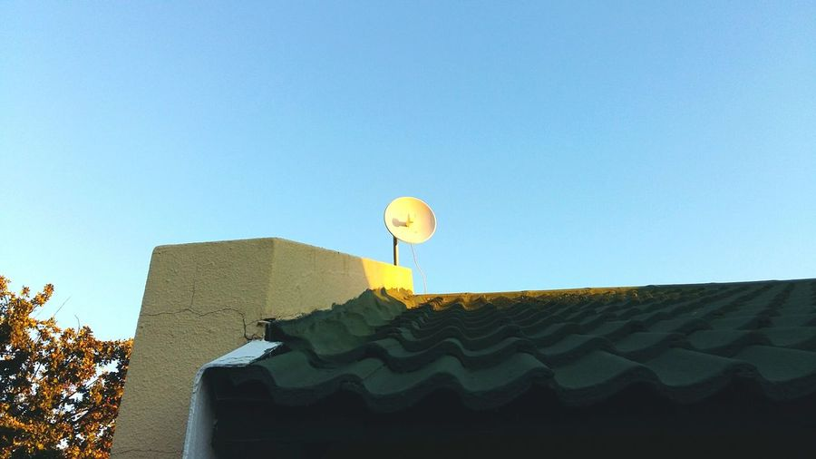 Dish Rooftop Scenery Sunset Infusion Rooftop View  Roof Rooftop Infra-red Beam Beam Me Up, Scotty