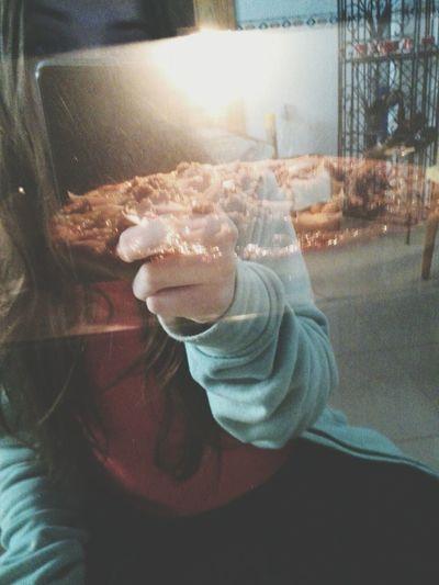si la pizza no es el amor de mi vida entonces yo no sé qué es