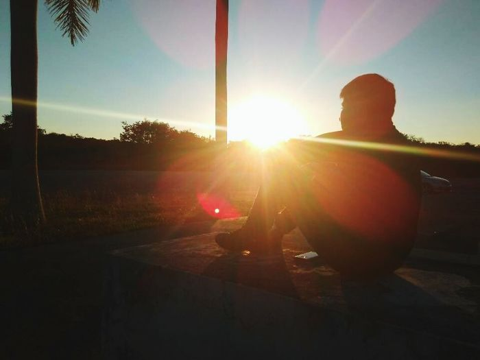 Adult Sunset Only Men One Man Only Tree One Person Day People Rear View Men Silhouette Sun Sunlight Sky Adults Only Outdoors Young Adult Lens Flare EyeEmNewHere This Is Masculinity Moving Around Rome Modern Workplace Culture