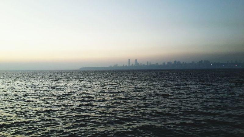 Arabian Sea Sea And Sky Sea And City Scenery Pleasefollow Water_collection