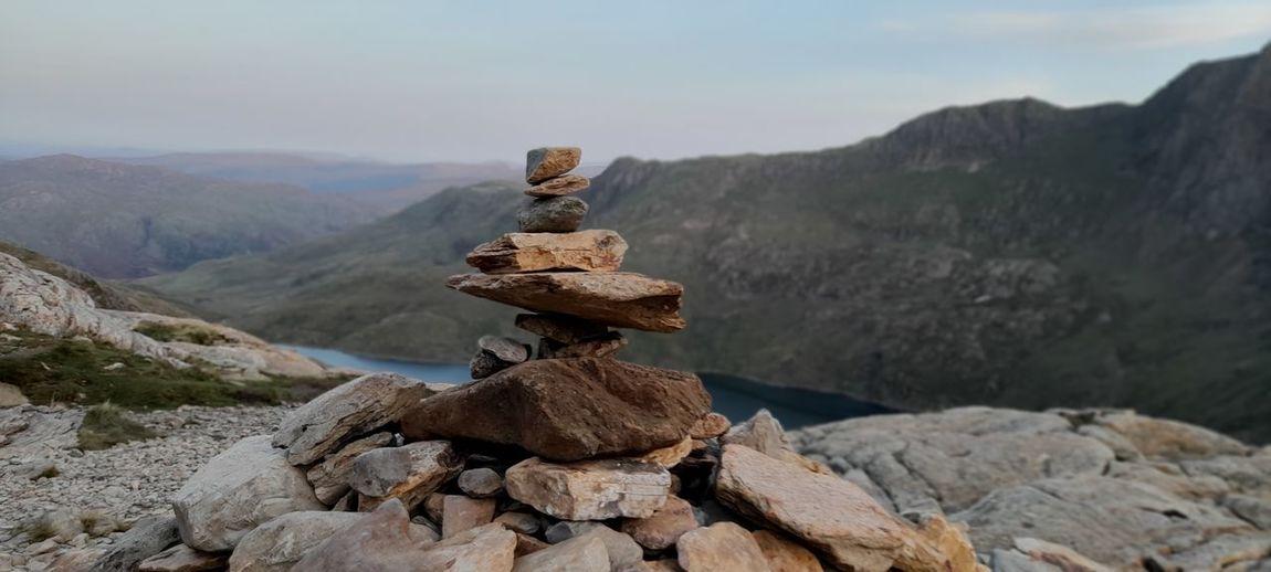 Rock stack snowdonia