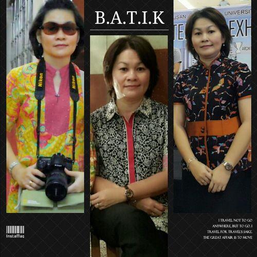 Minimalis me & batik...😍