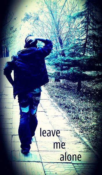 Walking Alone Santi Lonliness