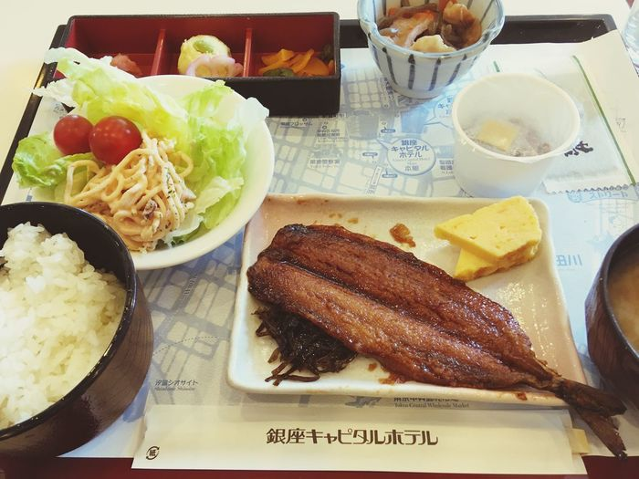 Japanese Breakfast Food And Drink Food Table Ready-to-eat Freshness Healthy Eating Plate