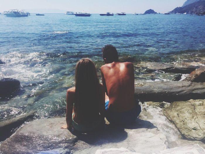 Summer2015😎🌞 Best Friends Sea Relaxing