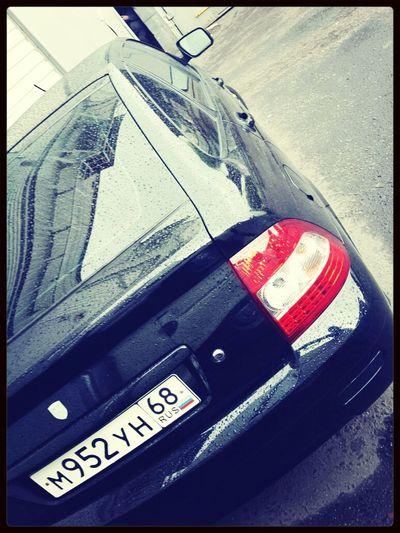 Black Car LADA First Eyeem Photo