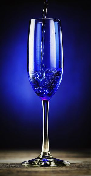 Wine Wineglass Champagne Blue Colorful Still Life Product Photography Stillife Wine Time StillLife