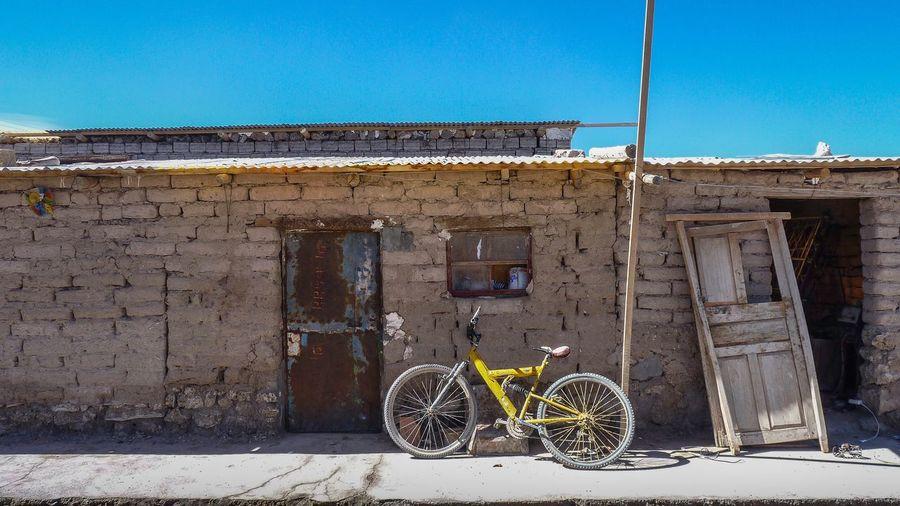 South America Adventure Club Bolivia Bolivia Uyuni House Rundown Bike Travel Destinations Construction Tumbledown Salt Flats Salar De Uyuni Uyiy