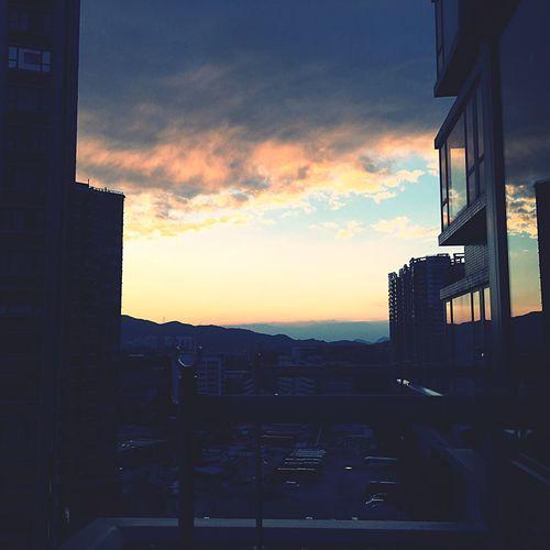 Sky Sunset Cloud - Sky 空 空の下 日没 夕焼け Yuen Long Hong Kong