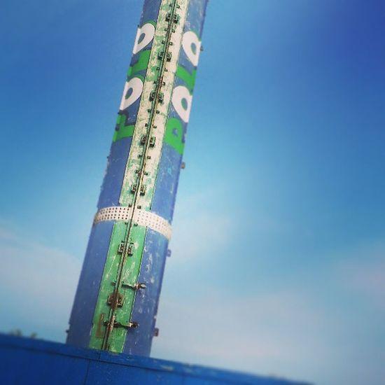 Bye bye Polo mint tower ;) Morecambe Morecamebay Polo Polomint polominttower strange landmark
