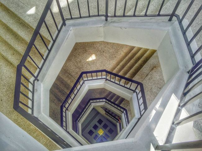 Sunday Quality Time Walking Around Stairs