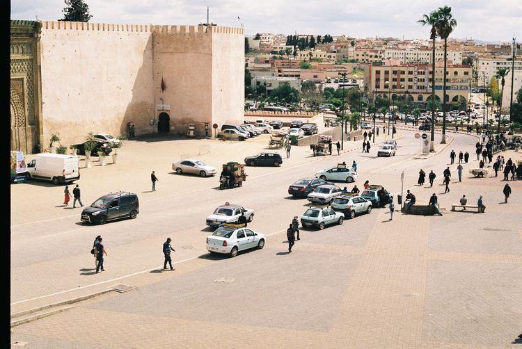 Car Street City Morocco Meknès Outdoors City Life Real People People Filmcamera (null)Canonae1 Fresh On Eyeem  The Week On Eyem Analog Freshness Analogue