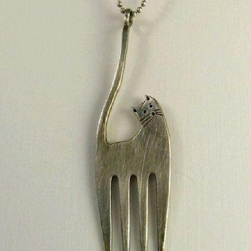Оригинальное украшение из вилки вилка креатив оригинально необычно