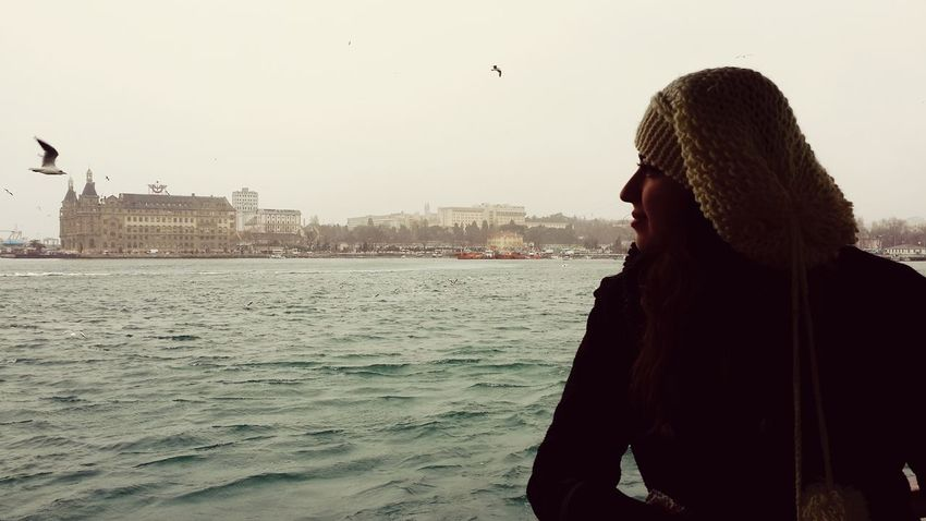 Istanbul Turkey Bogazturu Martılar Haydarpaşa Garı