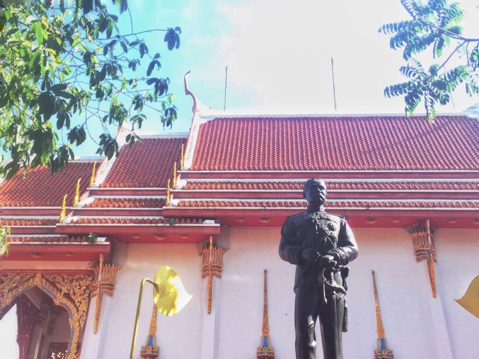 Architecture Low Angle View Outdoors Day Culture And Tradition Thai Thailand Culture Of Thailand