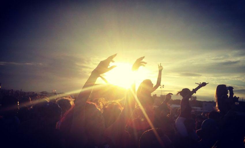 Sunsets & Good Music Music Music Festival Veld Veld2016 Toronto Sunset Sunset Silhouettes
