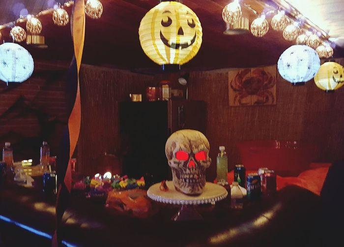 Happy Halloween! Halloween_Collection Halloween Skull Boo!