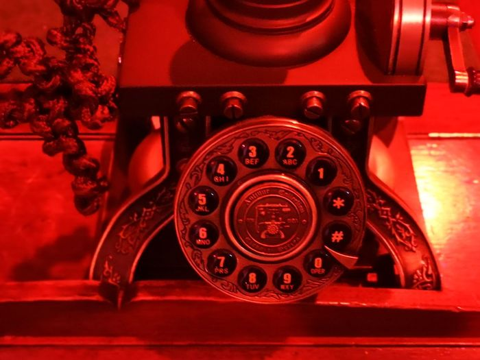 Old rotary phone - a thing of the past... No People Unedited Color Photo Vintage Phone Vintage Photography Ancient Technology Telephone Receiver Technology Rotary Phone Telephone Red Old-fashioned Retro Styled Communication Close-up Landline Phone Vintage Retro Dial Aged Antique Nostalgia The Past The Mobile Photographer - 2019 EyeEm Awards My Best Photo