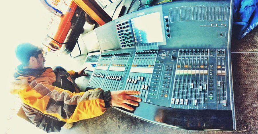работа At Work Sound Boy звукооператор Yamal Yanao Yamaha Cl 5 Салехард