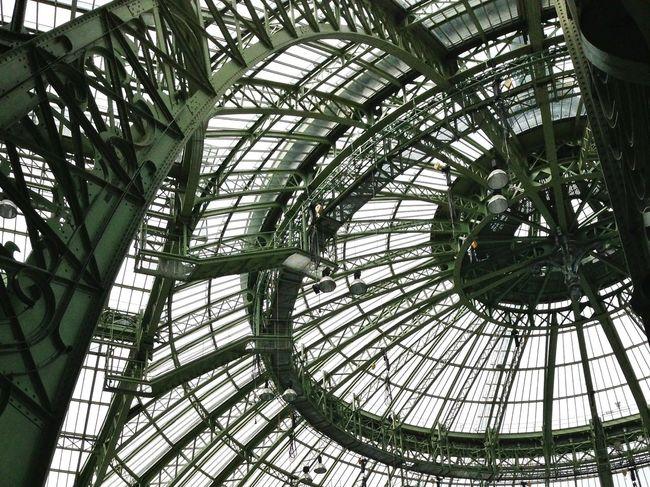 The coupole ! En couple depuis 1900. Architecture Grandpalais Paris